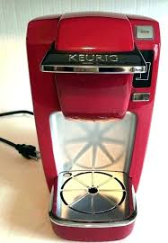 Red Keurig Coffee Makers Maker Colored