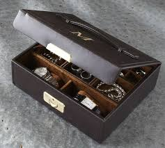 Dresser Valet Watch Box by Brilliant Mens Jewelry Box Vault Of Stone Mens Multi Level Valet