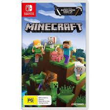 Minecraft Switch Edition Nintendo Switch BIG W
