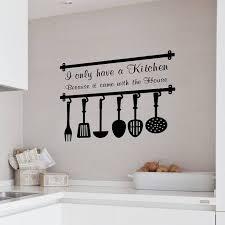 Plain Decoration Wall Decor Words Classy Design Kitchen Word