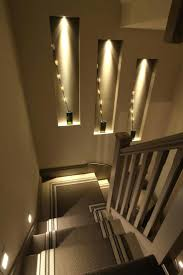 recessed wall lights for stairs lighting best review white light