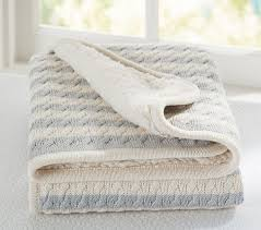 Cable Knit Throw Pottery Barn by Emerson Baby Blanket Pottery Barn Kids