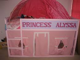 Canwood Whistler Junior Loft Bed White by Personalized Kura Bed Fit For A Princess With Playhouse Underneath