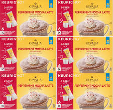 Pumpkin Spice Latte K Cups Gevalia by 6 Gevalia Peppermint Mocha Latte K Cup And 50 Similar Items