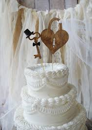 Wedding Cake Cakes Country Topper Elegant Rustic Toppers Ebay To In Ideas