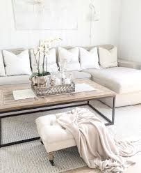 White And Neutral Living Room