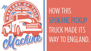 100 Truck Rental Spokane Getting There How An Old Wrecking Truck Ended Up In England