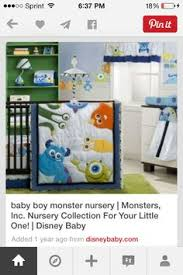 Monsters Inc Baby Bedding by Once Upon A Time Wall Decal Storybook Nursery Decor Vinyl Wall