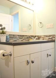 Gray And Aqua Bathroom by Kids U0027 Bathroom Reveal And Some Great Tips For Post Reno Clean Up