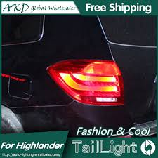 e Stop Shopping Styling for Toyota Highlander Tail Lights 2009