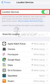 How To Disable Location Services iPhone iPad How To