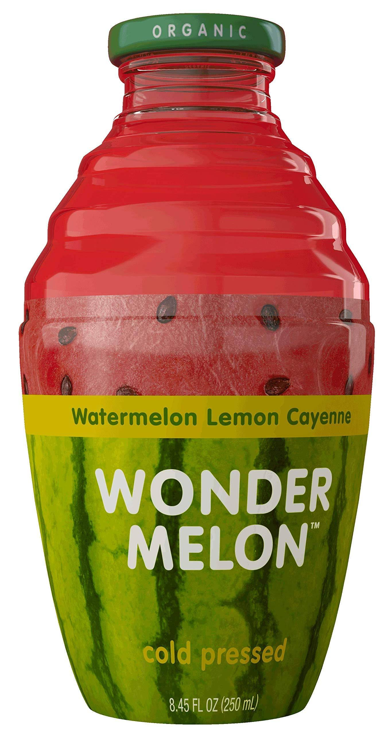 Wondermelon Organic Watermelon Juice with Lemon