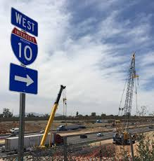 100 West Trucking I10 Traffic Alert Overnight Restrictions In Valley In July