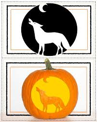 Wolf Face Pumpkin Carving Patterns by Pumpkin Stencils For Carving The Best Jack O Lantern Woman U0027s World