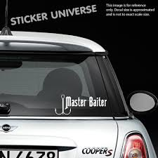 Car Styling For MASTER BAITER Funny Vinyl Die Cut Decal Sticker ... Buy 4x4 4wd Awd Decals Amazoncom Mathews Archery Logo With Whitetail White Hunting Bow Hunter Vinyl Decal Sticker Car Truck Arrow Buck Deer Hunter A Mans Gotta Do What A Funny I Love Guns For Windowboat Hot Fish On Hook Vinyl Boat Water For Your Cars Or Truck Youtube Dakota Truck Sticker Camo 2499 Pclick Browning Duck Doe Etsy Think Twice Prepper Car Cricut Fishing Hunting Letter Animal Pattern Stickers Window Family Elk Mom Dad 3 Boys Girls Kids