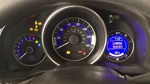 Malfunction Indicator Lamp Honda Fit by Honda Fit Charge System Check Youtube