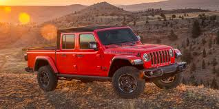 100 Truck Jeep Gladiator Pickup Truck Debuts To Take On Ford Chevy And