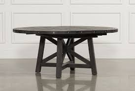 Round Dining Room Sets For 8 by Jaxon Round Extension Dining Table Living Spaces
