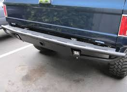 REAR BUMPER W/ HITCH - FITS CHEVY GMC K5 BLAZER & TRUCK 1973-1991 ...