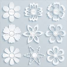 Paper Cutting Design Flower
