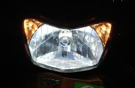 which headlights are the best for a motorcycle halogen hid