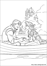 Colouring Pages Tangled 14 Printable Disney Including Rapunzel