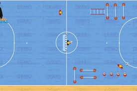 technique de foot en salle exercices canal futsal
