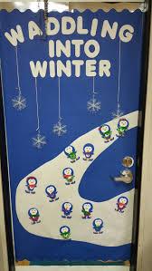 Kindergarten Winter Door Decorations by 14 Best Door Themes Images On Pinterest Doors