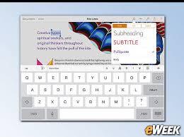 10 Microsoft fice Alternatives for Peripatetic iPad Users