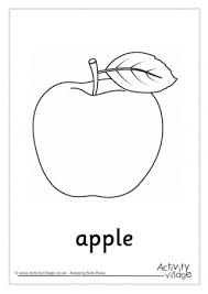 Apple Colouring Page 3