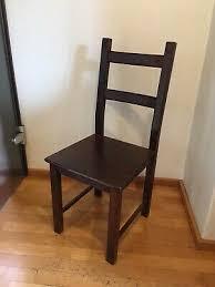 ikea lerhamn stuhl in schwarzbraun lehnstuhl esszimmer küche