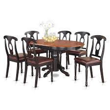 Shop 7-piece Pedestal Oval Dining Table And 6 Dining Chairs - Free ... Art Fniture Belmar New Pine Round Ding Table Set With Camden Roundoval Pedestal By American Drew Black Or Mackinaw Oval Single With Leaf Tables Antique And Chairs Timhangtotnet Shop 7piece And 6 Solid Free Delfini Drop Espresso Pallucci Rotmans Amish Miami Two Leaves Of America Harrisburg 18 Inch The Beacon Grand Cayman Lavon W18 Intertional Concepts Sophia 5piece White