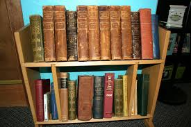 Vintage Books For Decoration by Nicole Mackin My Home Scrapbook Studio