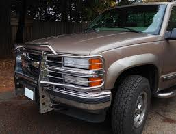 100 Truck Grill Guard Best Chrome Off 1997 Chevy Will Fit Other Years