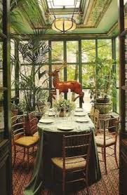 Garden Dining Room Inspiration For Sunroom Now Thats A Beautiful