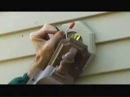 replacing an exterior light fixture