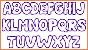 Bubble Letter Fonts Bubble Letters Alphabet Font bid proposal