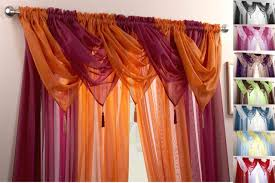Blue Crushed Voile Curtains by Curtain Ideas With Voile Decorate The House With Beautiful Curtains