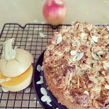 kürbis apfel kuchen mit mandelkruste ein hauch rosa