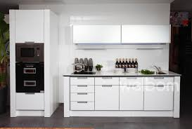 White Painting Laminate Kitchen Cabinets Thediapercake Home Trend