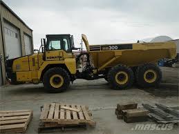 Komatsu -hm300-2 - Articulated Dump Truck (ADT), Price: £198,503 ...