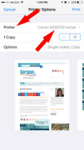 How to Print from iPad or iPhone German Pearls