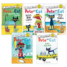 pete the cat books pete the cat s cool reading collection i can read 5 books