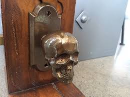 Cabinet Hardware Backplates Bronze by Skull Von Bronze Backplate Hardware For Doors By Faucetto
