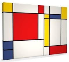 247 Mondrian Canvas Art