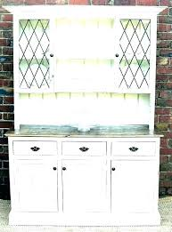 White Dining Hutch Buffet Cabinets