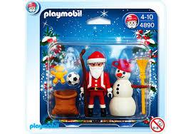 maison du pere noel playmobil père noël et bonhomme de neige 4890 a playmobil