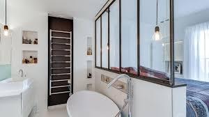 faire une salle de bain dans une chambre suite parentale chambre avec salle de bains plan dressing