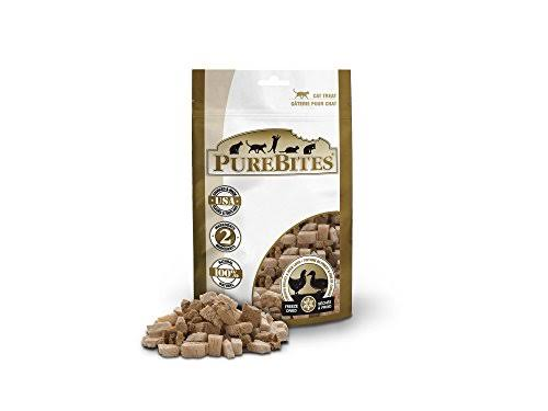 Purebites Freeze Dried Cat Treats - Chicken Breast & Duck Liver