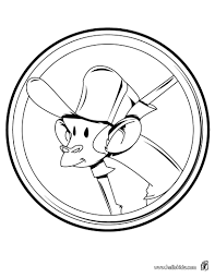 Sir Monkey Coloring Page